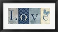 Live Love Laugh Navy II Fine Art Print