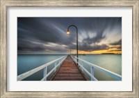 Lagoon Pier 2 Fine Art Print