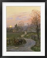 After the Barn Raising Fine Art Print