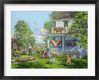 Airing the Quilts Fine Art Print