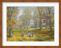 Autumn Dance - Kids Ability Fine Art Print