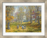Autumn Dance - Kids Ability Fine Art Print
