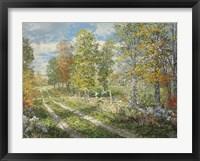 Autumnal Blind Line Fine Art Print
