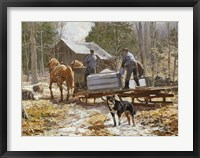 End of the Sugaring Fine Art Print