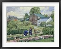 Nancy in the Garden Fine Art Print