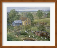 Small Farm Newton Fine Art Print