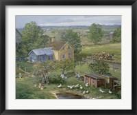 Small Farm Newton Fine Art Print