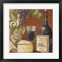 Wine and Cheese Tasting 3 Fine Art Print