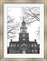 Independence Hall (Center) Fine Art Print