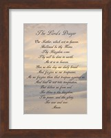The Lord's Prayer - Sunset Fine Art Print