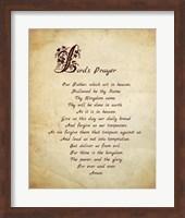 Lord's Prayer Fine Art Print