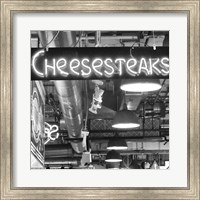 Cheesesteaks  (b/w) Fine Art Print