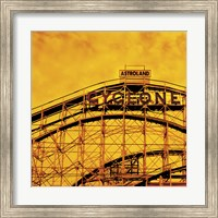 Flaming Cyclone Fine Art Print
