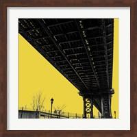 Yellow Underpass Fine Art Print
