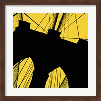 Brooklyn Bridge (Yellow) Fine Art Print