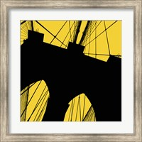Brooklyn Bridge (Yellow) Fine Art Print