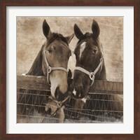 Trio Vintage Fine Art Print