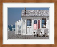 Dockside Flag Fine Art Print