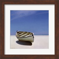 Beached Boat Fine Art Print