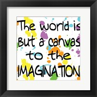 The World Is But A Canvas Fine Art Print
