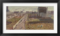 Factories at the Porta Romana -Milan Fine Art Print