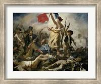 Liberty Leading the People, 1830 Fine Art Print