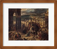 The Entrance of the Crusaders into Constantinople, 1852 Fine Art Print