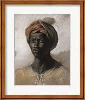 Bust of a Black Man Wearing a Turban, 1826 Fine Art Print