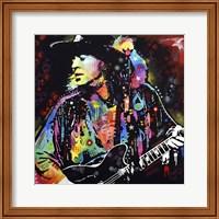 Stevie Ray Vaughan Fine Art Print