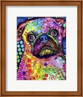 Pug 92309 Fine Art Print