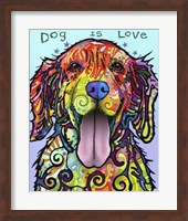 Dog Is Love Fine Art Print