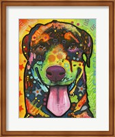 Rottie Pup Fine Art Print