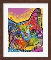 Tilt Cat Fine Art Print