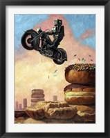 Dark Rider Again Fine Art Print