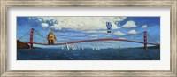 Golden Gaters Fine Art Print