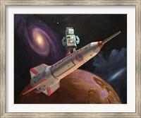 Rocket Surfer Fine Art Print