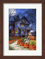 Spooky House Fine Art Print