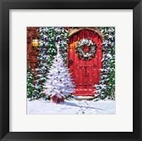 Red Door 2 Fine Art Print