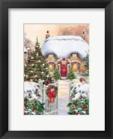 Winter Cottages 1 Fine Art Print