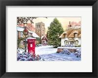 Winter Village 3 Fine Art Print