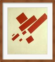 Eight Red Rectangles, 1915 Fine Art Print
