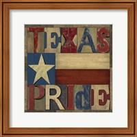 Texas Printer Block II Fine Art Print