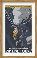 St-Space-06 Spacetravel Asteroids Fine Art Print