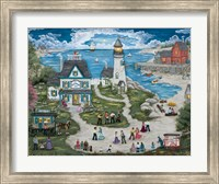 Party at the Lighthouse Inn Fine Art Print