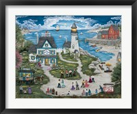 Party at the Lighthouse Inn Fine Art Print