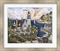 Pelican Point Lighthouse Fine Art Print