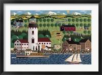 Grays Harbor Light B Fine Art Print