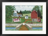 White Creek Farm Fine Art Print