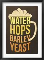 Water Hops Barley Fine Art Print