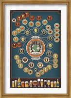 Beers Of The World Fine Art Print